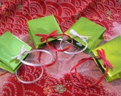 Ultra Mini Christmas Gift Bags (set of 4)