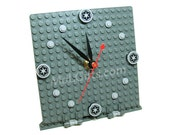 Star Wars Clock, Imperial Model made from Star Wars LEGO (r) Pieces, Star Wars Imperial Clock