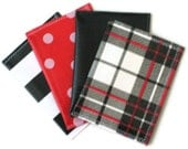 Oilcloth Pocket Card Keeper for Gift Cards, Business Cards, Credit Cards, Membership Cards