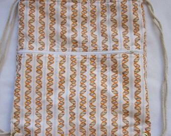 DNA Code of Life Backpack/tote Custom Print