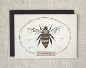 Valentine's Day Card, Anniversary Card, Love Card - Bee's Knees
