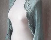 ICE, Knit & crochet shrug pattern pdf