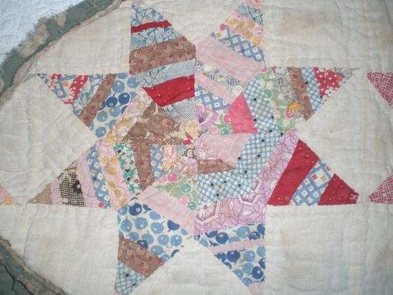 Antique Quilt pieces