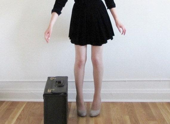 traveling salesman suitcase . dark brown hard attache briefcase luggage .sale