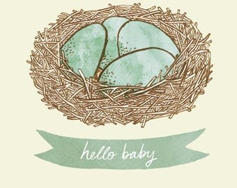 SALE: Hello Baby card