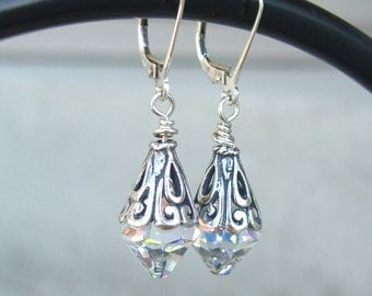 Awesome Crystal Drop Earrings (Leverbacks)