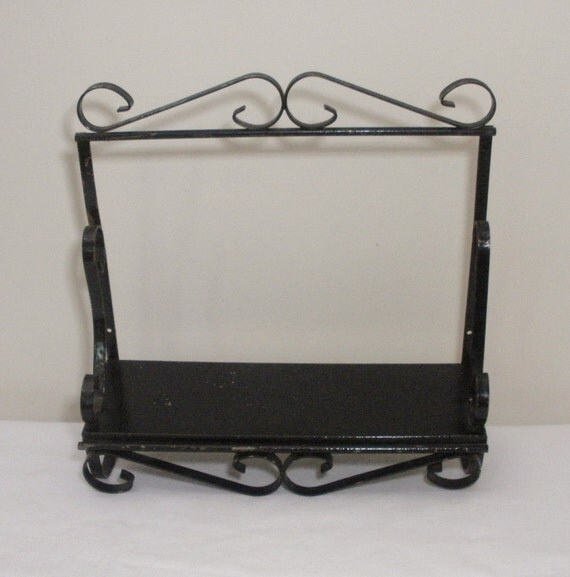 Vintage wrought iron divider