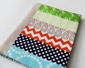 Reserved Listing for SGtwo - Patchwork Notebook Cover