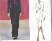 Yves Saint Laurent Vogue Patterns 2226 sizes 6-8-10