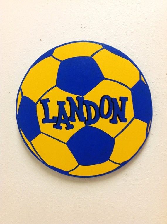 Soccer Sport Ball Wall Decor