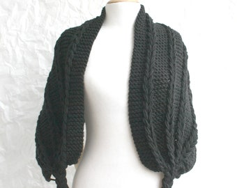 Black Scarf Shawl  Mothers Day gift  UNDER 75USD For Her