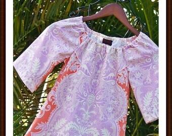 Girls Handmade Holiday Dress Sandalwood 6mos to 12