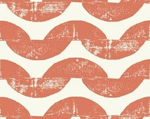 Ty Pennington Impressions Wave in  Spice fabric by the yard