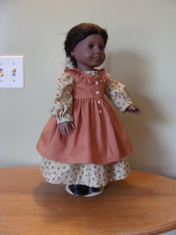 Prairie Dress with apron for 18 inch doll