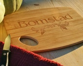 Eco Bamboo Cutting Board Custom Personalized Gift, Men, Gift for Dad, Father's Day,Birthday Gift for him, Men's gift