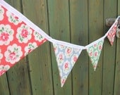 Outdoor Waterproof Cath Kidston Provence Rose Bunting