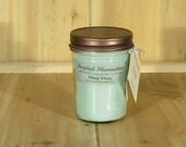 Ylang Ylang Scented 8oz Soy Jelly Jar