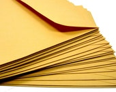 Kraft Mailing Envelope - 6x9 - Set of 25 - Mailers