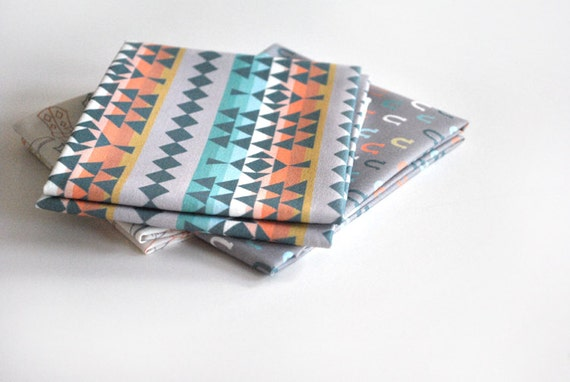 southwest stripe - southwestern fabric - original fabric - fat quarter