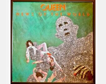Glittered Queen News of the World Album