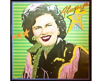 Glittered Patsy Cline Always Album