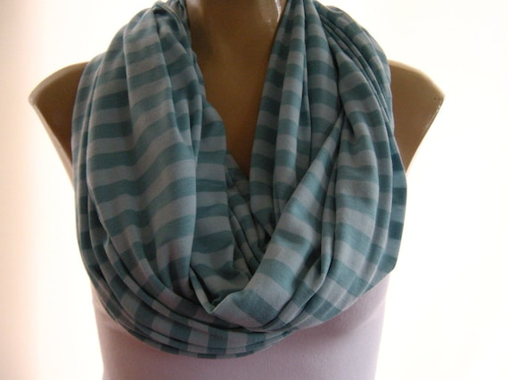 Last One..Atlantis Blues...Casual stripes.. Nomad Cowl.....Infinity Scarf..Relaxed version