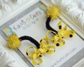 Itty Bitty Bumble Bee Antennae Hair Clips - Perfect for Birthdays and  Costumes