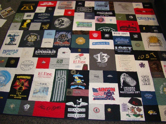 concepcionjewelry Cal King Size Custom Tshirt Quilt