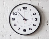 industrial simplex school wall clock