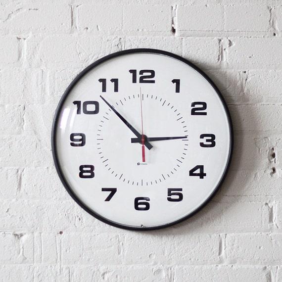 industrial simplex school wall clock