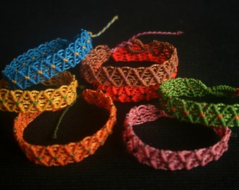 1 x Macrame Friendship Bracelets