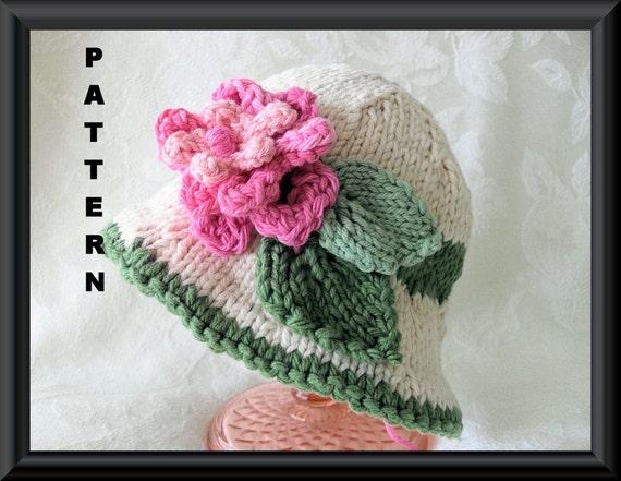 Knitted Hat Pattern Baby Hat Pattern Newborn Hat Pattern