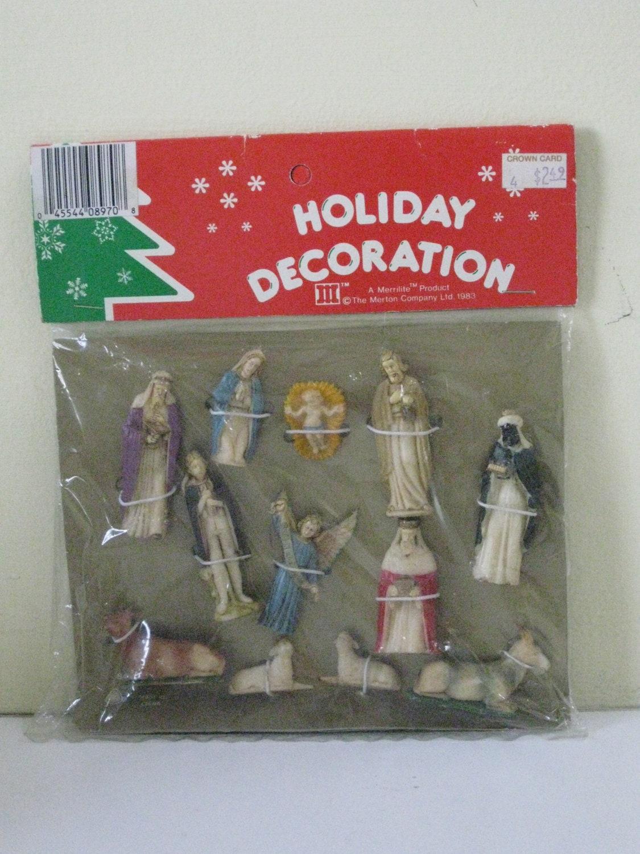 Vintage Nativity Figures 98