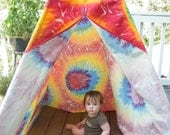 Tie-Dye Teepee Large Size - Free US Shipping