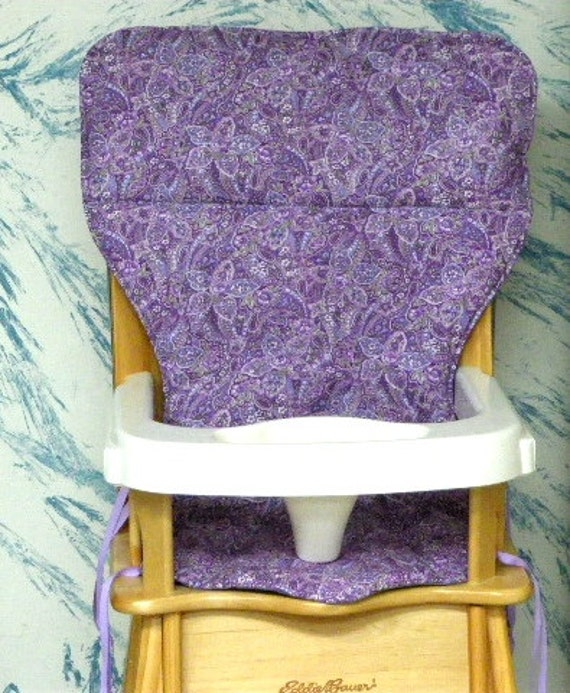 Eddie Bauer Jenny Lind Replacement High Chair Coverpurple