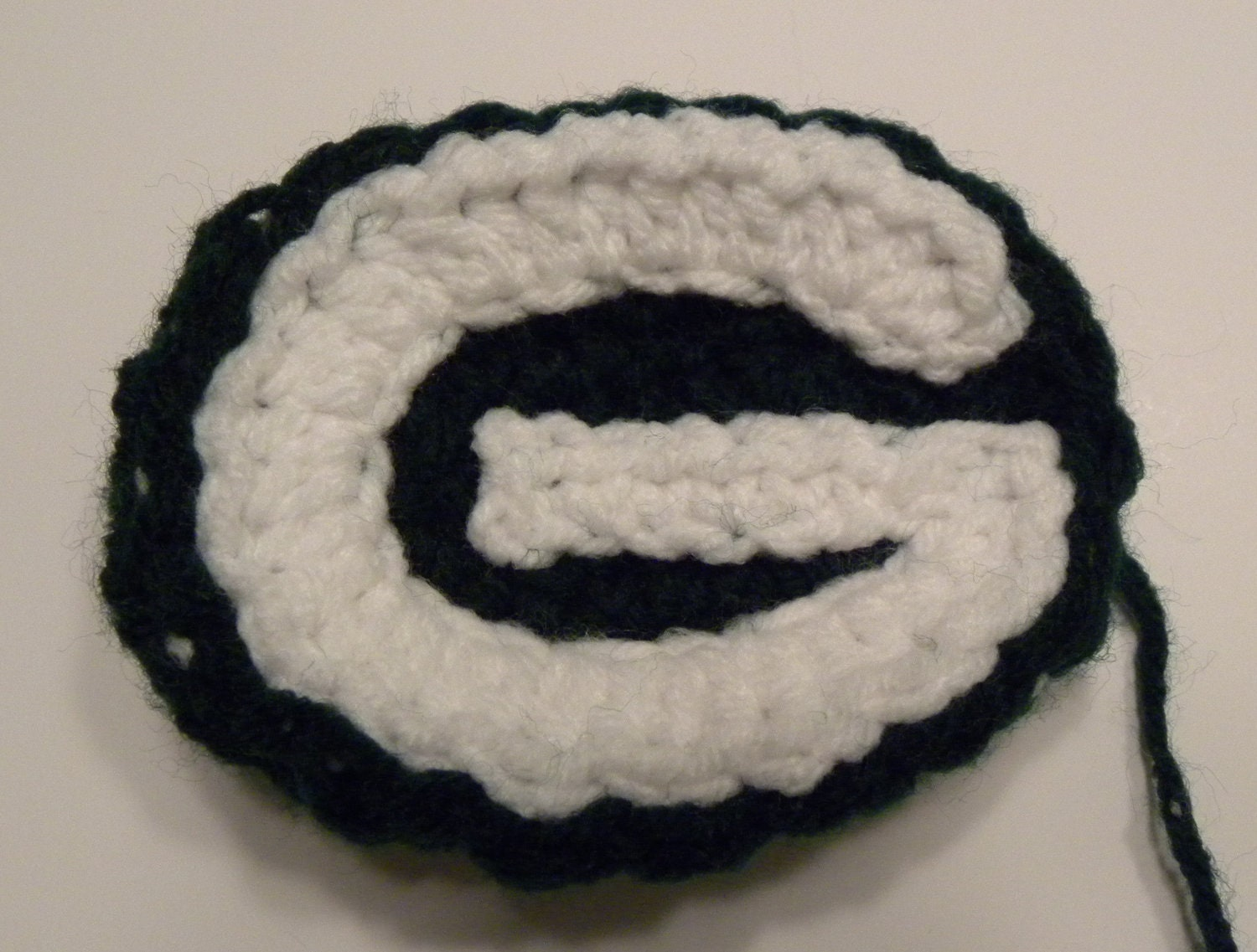 Crochet Pattern Green Bay Packer Afghan : CROCHET PATTERN Green Bay Packers Crochet Applique
