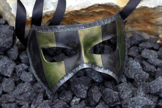Masquerade Handmade Leather Mask