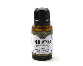 Organic Lavender Essential Oil, Lavender Oil, Cultivated in Italy,  Lavandula officinalis, essential oil, FREE SHIPPING