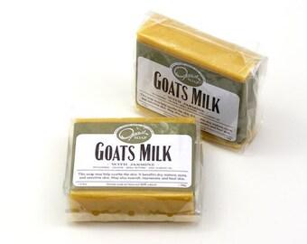 Goat Milk Soap, Jojoba Oil, Jasmine, Orange, made in the USA, FREE Shipping