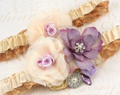 Garter, Wedding, Belt, Toss, Bridal, Ivory, Champagne, Tan, Lilac, Crystals, Pearls, Satin, Tulle, Elegant, Vintage