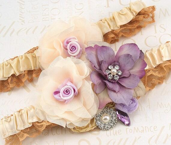 Garter, Wedding, Belt, Toss, Bridal, Ivory, Champagne, Tan, Lilac, Crystals, Pearls, Satin, Tulle, Elegant, Vintage