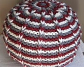 The Lucky Hanks Signature Pouf pattern - yarn version  - Pattern Only - permission to sell what you make