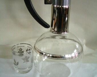 Vintage Industrial Coffee server or pitcher- Atomic
