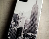 iPhone 5 case - New York City print, urban iPhone case - The City - black and white, urban print, NYC design, iPhone 5 body