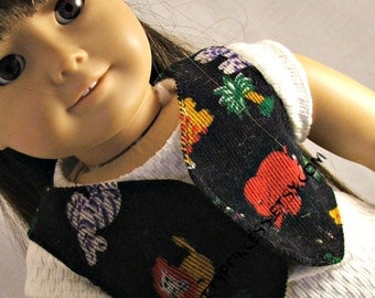 Animal Print Corduroy Vest for American Girl Doll