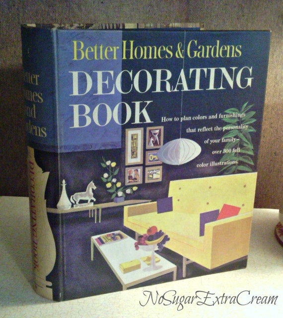 Vintage Better Homes & Gardens Decorating Book