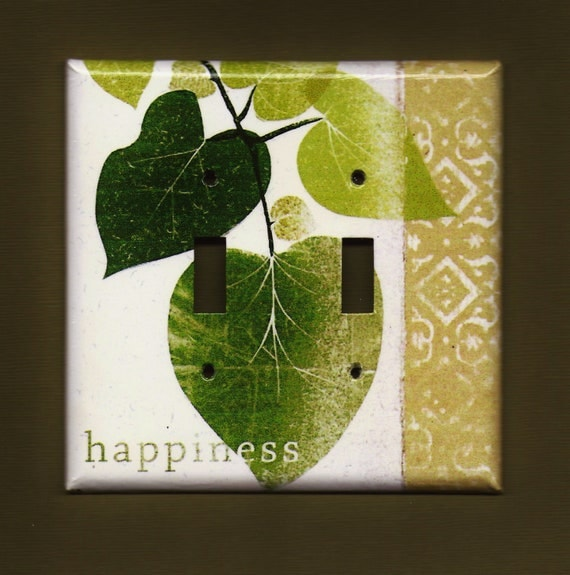 Happiness Switchplate cover