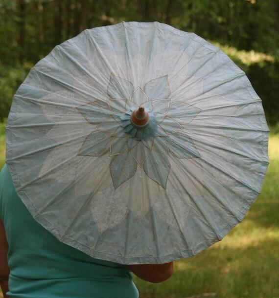 Lotus Flower Parasol