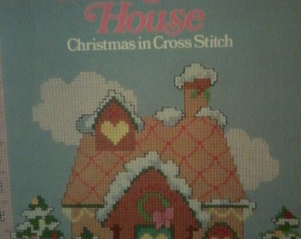 All Through the House-Christmas in Cross Stitch