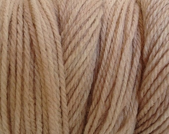 Paper Beige DK Sport Weight Hand Dyed Merino Wool Yarn